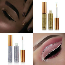 Glitter Eye Make Up Liner Waterproof Pigmented Red White Gold Liquid
