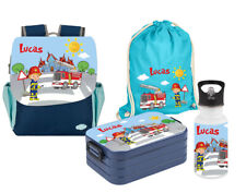 set Kindergarden Backpack Happy Knirps Next Print with Name Pattern Kids