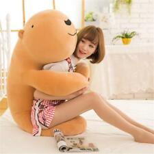 Giant Big Fluffy Bears pillow Soft Animal Toy Stuffed Brown White Doll Xmas gift