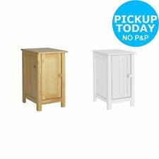 HOME New Scandinavia Slim Bedside Chest - Choice of Pine / White. From Argos