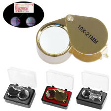 Triplet Jeweler Eye Loupe Magnifier Magnifying Glass Jewelry Diamond With Box