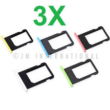 3X Brand New iPhone 5C Sim Tray SIM Card Tray Holder Replacement Part