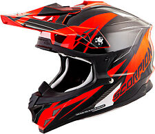 SCORPION HELMET  VX-35 BLACK / ORANGE [Different Sizes]