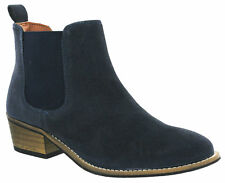 Cipriata Twin Gusset Ankle Italian Suede Leather Boots Pull On Fashion Womens