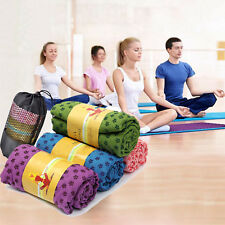Thick Non-Slip Yoga Mat Gym Pad Exercise Physio Pilates Fitness Blanket FastShip