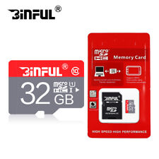8GB 16GB 32GB High Speed Micro SD Card TF Card C10 SDHC/SDXC With Adapter