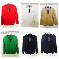 New Tommy Hilfiger Knitted Womens Jumpers 6 Colors Sz- XS S M L XL