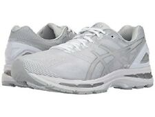 ASICS GEL MENS NIMBUS 19 GLACIER GREY SILVER WHITE SHOES **ALL SIZES BEST SELLER