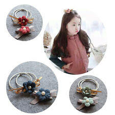 Hair Ring Flower Hair Rubber bands Rope Cloth Headbands Ties Hair Accessories