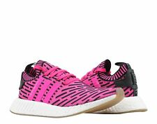 Adidas NMD_R2 PK Primeknit Shock Pink/Core Black Men's Running Shoes BY9697