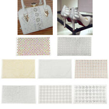 MagiDeal Sheet Rhinestone Sheet Crafts Sewing Scrapbooking Iron On Clothes Bags
