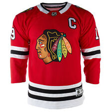 OuterStuff NHL Youth Chicago Blackhawks Jonathan Toews #19 Premier Home Jersey