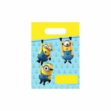 Lovely Minion Complete Party Set includes table cover, plates, cups, napkins