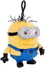 Despicable Me Minion Plush Backpack Zipper Pull Clip-on Key Chain/Ring Hanger