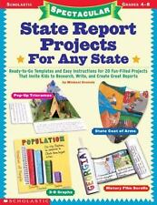 Spectacular State Report Projects for Any State : Ready-to-Go Templates and...