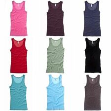 Bella + Canvas Womens/Ladies Sheer Rib Sleeveless Tank Vest Top (RW3107)