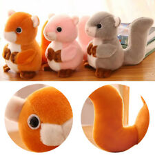 Squirrel Plush Toys Animals Plush Dolls Soft Stuffed Dolls Toys for Children