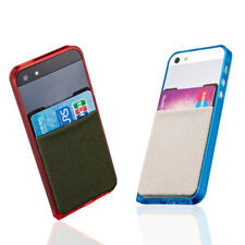 1 Pcs Credit Card Stick On Adhesive Elastic Lycra Cell Phone Wallet