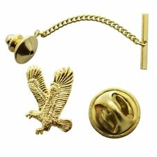 Flying Eagle Tie Tack ~ 24K Gold ~ Tie Tack or Pin