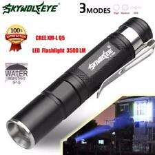 4000LM Super Bright Zoomable CREE XM-L Q5 LED Flashlight 3 Mode Torch Lamp Light