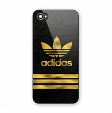 Best Luxury-Adidas Logo Gold Stripe Print Hard Plastic Cover iPhon 5s 6s 7 Plus