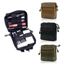Outdoor Emergent Pouch First Aid Kit Military Combat MOLLE Medical Bag