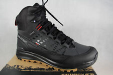 Salomon boots Z.Lacing, Black, Waterproof Gore-Tex Kaipo Mid GTX NEW