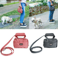 Waterproof Pet Leash Bag Dog Puppy Walking Leash With Carrier Bag Poop Bag