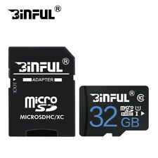32GB microSD SDHC Flash TF Memory Card Class 10 Micro SD FREE SD Adapter