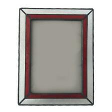 """Vintage Glass Free Standing Picture Photo Frame Wedding Table Decoration 5 x 7"""""""