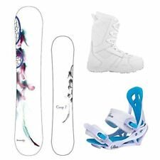 2018 Camp7 Dreamcatcher w/Mystic Bindings and Lux Boot Womens Snowboard Package