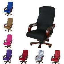 Office Swivel Chair Cover Seat Antimacassar ,Stretch AimChair Protector L