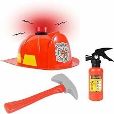 Fireman Hat w/ Firefighter Accessories - Fireman Costume by Funny Party Hats