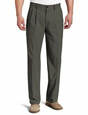 Dockers Men's Easy Khaki D3 Classic-Fit Pleated Pant, Umber, 30W x 30L