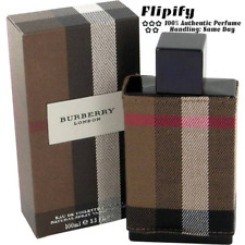 Burberry London new Cologne By BURBERRY FOR MEN 3.4 oz 1.7 1 0.15 oz EDT Spray
