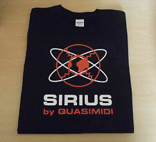 RETRO T SHIRT SYNTH DESIGN SIRIUS by quasimidi SYNTH S M L XL XXL