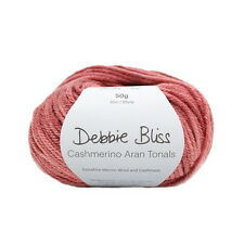 Debbie Bliss Cashmerino Aran Tonals Hand Knitting Yarn - 50g Various Shades
