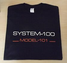 RETRO SYNTH SYSTEM 100 101 SEMI MODULAR SYNTH DESIGN ROLAND T SHIRT S M L XL XXL