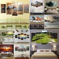 25 Type Oil Painting on Canvas Wall Decor Artwork Map Animal Landscape Buddha