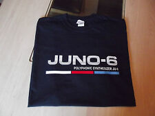 RETRO SYNTH T SHIRT SYNTHESIZER DESIGN JUNO 6 COLOUR S M L XL XXL