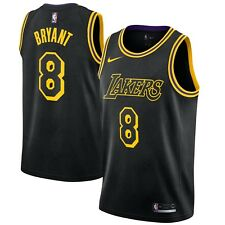 Nike 2017 NBA Los Angeles Lakers Kobe Bryant #8 Swingman City Edition Jersey NWT