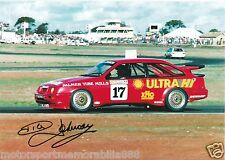 Dick Johnson SIGNED 6x4 or 8x12 photos V8 Supercars DJR FORD SIERRA FAST POSTAGE