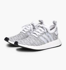 NEW adidas Originals NMD R2 PRIMEKNIT - Boost Camo BY9410 White Black PK c1