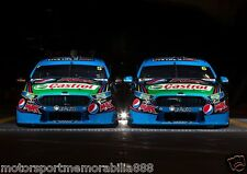 Mark Winterbottom & Chaz Mostert 2015 6x4 or 8x12 photos V8 Supercars FORD FPR