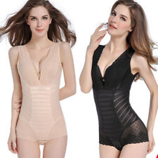 Womens Lingerie Seamless Full Body Shapewear Bodysuit Firm Control Girdle Corset
