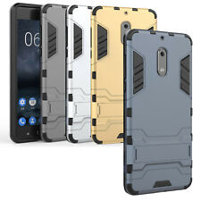 For Nokia Mobile Phone Armor Hybrid Cover Hard Shockproof Case with Kickstand