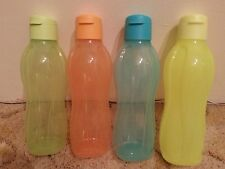 Tupperware - Eco H2O On the Go 1L x 4 Bottles (Water /Drink) New   no rel ,,...