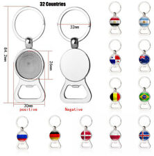 NEW Key Ring Chains Bottle Opener For 2018 Russia Football World Cup Soccer Fan