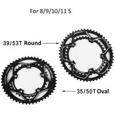 MTB Bike Double Chainring 110/130BCD Road Bicycle ChainRings 8/9/10/11 Speed