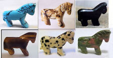 HORSE FETISH ANIMAL Focal Pendant BEAD * Your Choice of stone